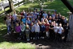 Unser Gruppenfoto vom Jugendausflug in Weißenbach 2019.