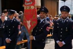 Die Freiwillige Feuerwehr war auch dabei.