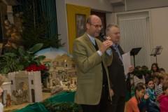 Begrüßung durch Stadtpfarrer Rauch und Horst Terschanski.