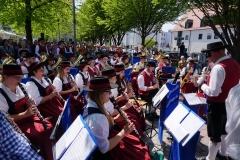 Maifest 2019: Die Stadtkapelle gibt den Takt vor