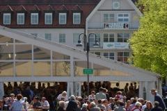 Maifest 2019 am 01. Mai 2019 auf dem Rathausplatz in Bobingen