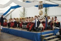Maifest 2019: Die Stadtkapelle Bobingen spielte beim Festgottesdienst