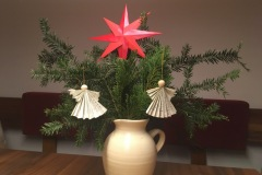 Auch in einer Vase macht sich die Deko toll.