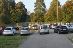 Mehr als 40 Fahrzeuge kamen.
