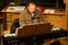 Tobias Drixler am Keyboard
