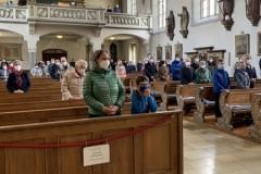 Gottesdienst zu Christi Himmelfahrt in der Pfarrkirche