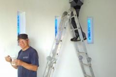 Neue Wandfarbe für den Innenraum