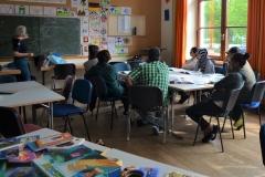 Am 18. Mai begann der zweite Kursblock, Modul Bildung.