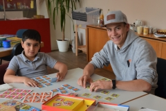 Das Thema Bildung reicht von Kindergarten bis Ausbildung und Beruf. Miteinander Spielen gehörte auch dazu.